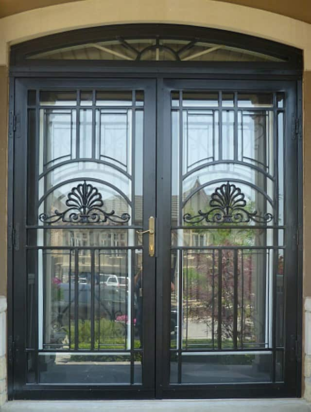 Security Storm Doors Product : Chicago custom steel security storm doors installation
