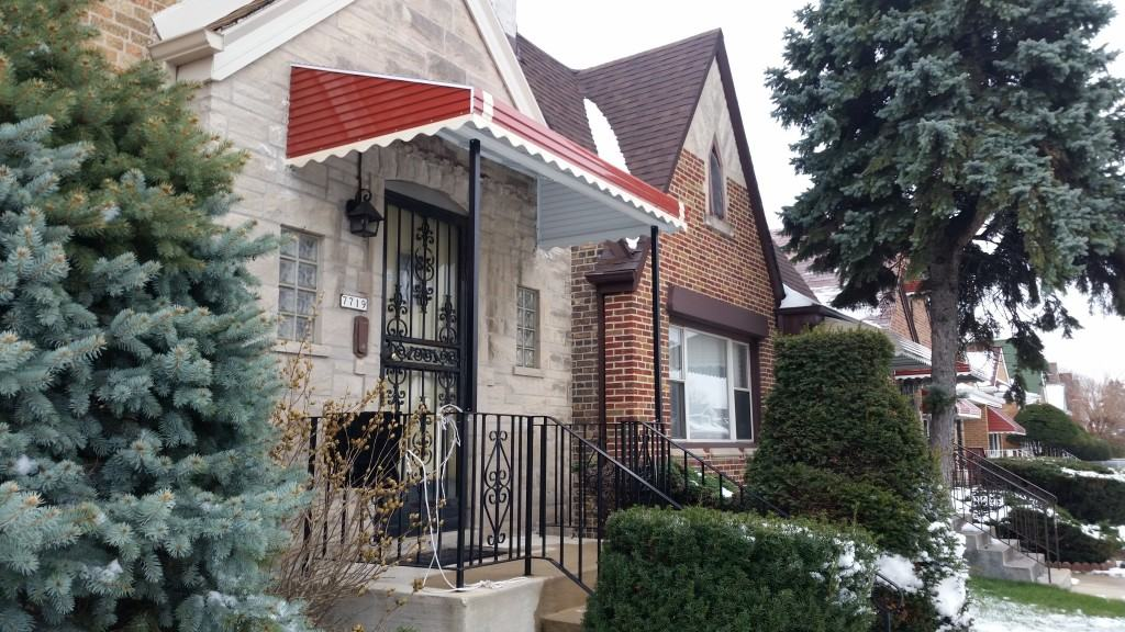 Chicago Replacement Aluminum and Canvas Awnings ...