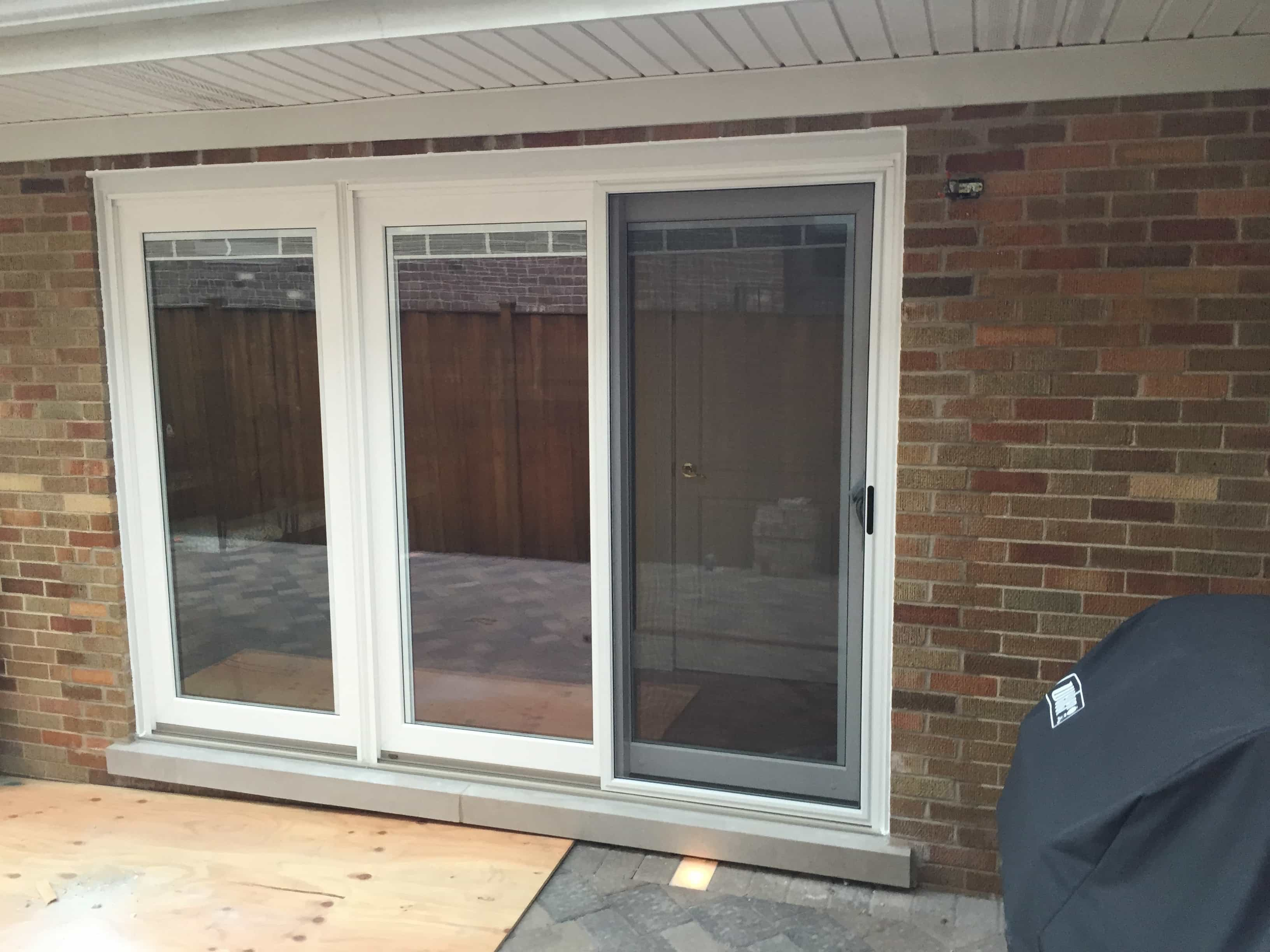 after window to door conversion