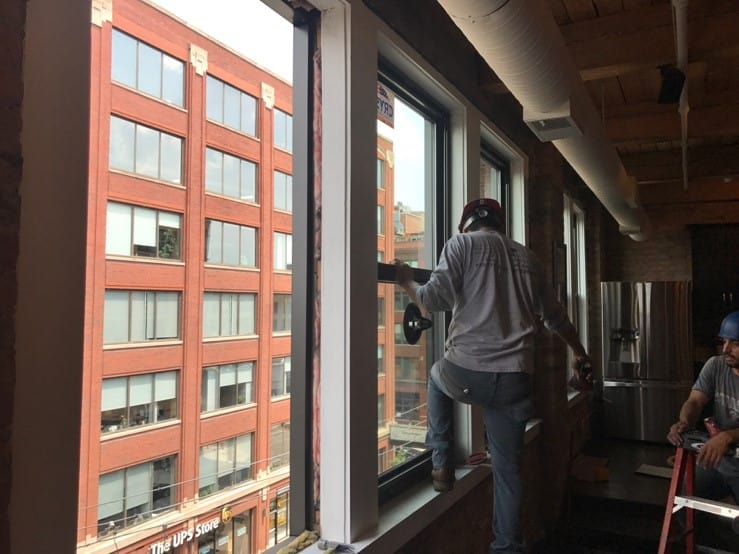 chicago commercial window installation